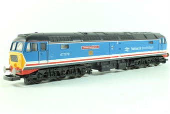 L205038 Class 47 47579 James Nightall VC in Network SouthEast Revised livery