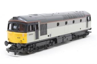 L205070SI Class 33 33033 in Railfreight grey