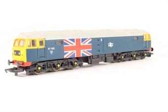 L205081 Class 47 Diesel. 47163 BR blue with Union Jack