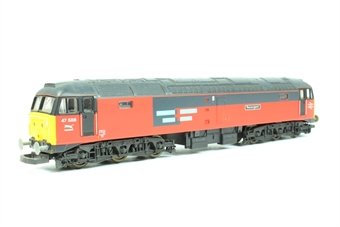 """L205084 Class 47 47588 in Rail Express Systems livery """"Resurgent"""""""