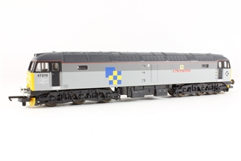 "L205092a Class 47 Diesel. 47210 2 Tone Railfreight Construction ""Blue Circle Cement"""