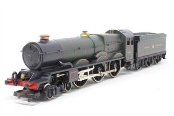 L205103a-PO12 Class 8P 'King' 4-6-0 6000 'King George V' in Great Western green - Pre-owned - Missing brake pipe on tender - Chipped paint on buffer beam - Imperfect box