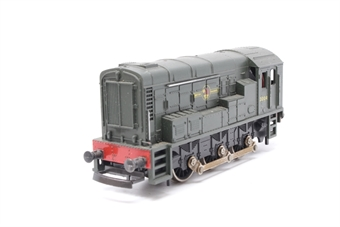 L205108-PO12 Class 08 3004 in BR Green - Pre-owned - Body loose from chassis - Missing coupling hook - replacement box