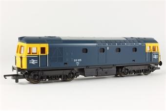 L205116b Class 33 33105 in BR blue