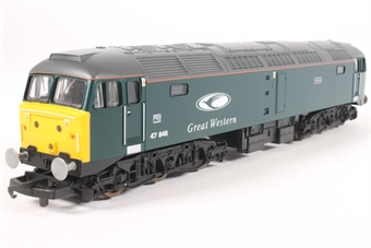 """L205171a Class 47 Diesel. 47846 Great Western livery """"Thor"""""""