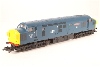 L205189a Class 37 37043 Loch Lomond in BR Blue limited edition of 550