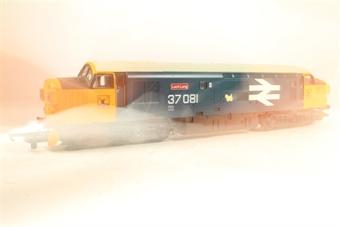 L205190a Class 37 diesel 37081 'Loch Long' in BR large logo blue