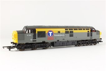 L205193 Class 37 diesel 'Transrail' grey and yellow no.37351