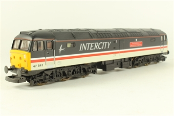 L205202a Class 47 47841 Institute of Mechanical Engineers in Intercity Swallow limited edition of 500