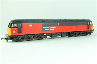 L205205 Class 47  'Resplendent' 47625 in RES livery