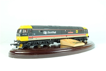 L205211-4741 Class 47 47541 The Queen Mother in Scotrail Intercity livery
