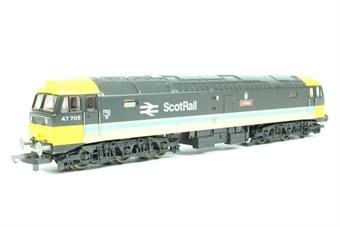 "L205211-47705 Class 47 47705 in Scotrail livery ""Lothian"""