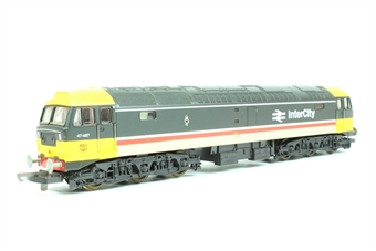 L205214 Class 47 47487 in Intercity Executive livery