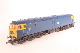 L205218b Class 47 47487 in BR blue