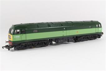 L205219b Class 47 D1842 in BR Green