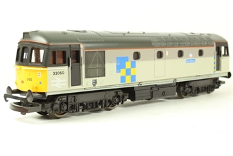 "L205228 Class 33 33050 ""Isle of Grain"" in Railfreight Construction Sector Livery"