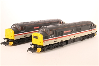 L205241 Class 37/4 Scottish Trainpack 37405 and 37417 in Mainline Livery