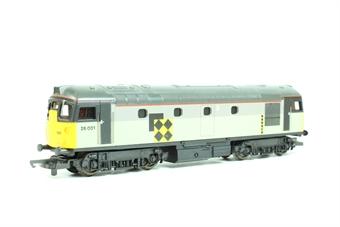 L205242 Class 26 26001 Railfreight Coal Sector Livery