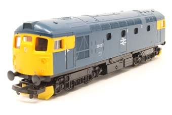 L205244-PO01 Class 26 26027 BR Blue with headcode discs and snowploughs. - Pre-owned - Like new