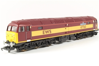 L205258 Class 47 47760 Ribblehead Viaduct in EWS livery