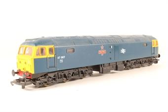 L205259a Class 47 47567 in BR blue