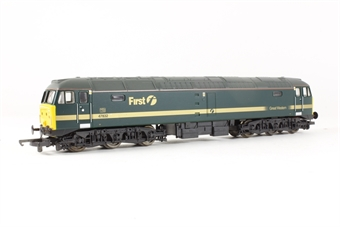 L205283 Class 47 47832 in First Great Western Fag Packet livery