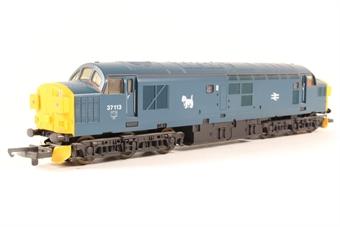 L205286 Class 37 37113 in BR Blue