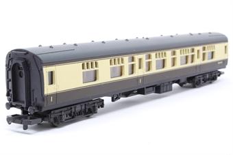 L305313-PO26 Mk 1 CK Composite Corridor W24624 in BR chocolate & cream - Pre-owned - minor marks on roof, imperfect box