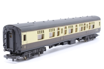 L305313-PO31 Mk 1 CK Composite Corridor W24624 in BR chocolate & cream - Pre-owned - scratches on roof -missing buffer- incorrect box,