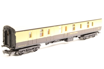 L305345-PO Mk 1 BG Full Brake 4476 in GWR chocolate & cream - Pre-owned - Repainted, marks on body side, imperfect box