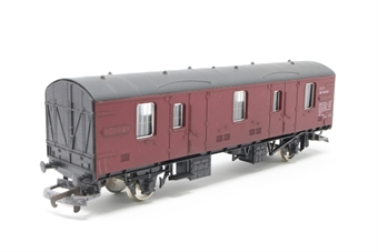 L305357W-PO20 BR CCT Covered Carriage Truck M94292 in BR Maroon - Pre-owned - Like new - imperfect box