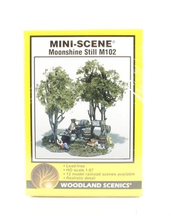 hattons.co.uk - Woodland Scenics M102 Moonshine Still Mini ...