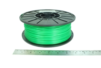 MP03045 Translucent Green PLA 1kg Spool / 1.75mm / 1.8mm Filament