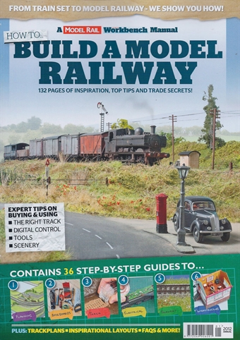 ModelRailHowToBuild How To Build A Model Railway from Model Rail magazine £4.99