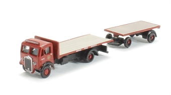 N010 Albion CX3 Flatbed & trailer 'BRS'