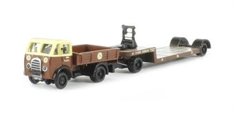 N023 Foden DG Ballast Tractor & Low Loading Trailer 'Great Western Railway' (circa 1946 - 1950)