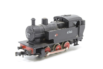 N201-PO07 Class 2F 0-6-0 No.47160 in British Rail black - Pre-owned - poor runner- replacement box