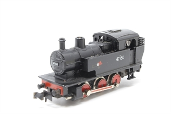 N201-PO08 Class 2F 0-6-0 No.47160 in British Rail black - Pre-owned - Imperfect box