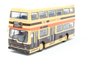 """N6208B-PO01 Scania Metropolitan double deck bus - """"Charles Cook, Cambridgeshire"""" - Pre-owned - imperfect box"""