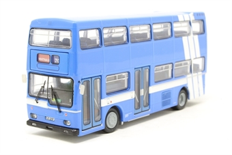 "N6209-PO Scania Metropolitan double deck bus ""G & G of Leamington"" - Pre-owned - loose engine cover"