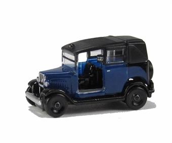 NAT002 Austin Low Loader Taxi - Oxford Blue