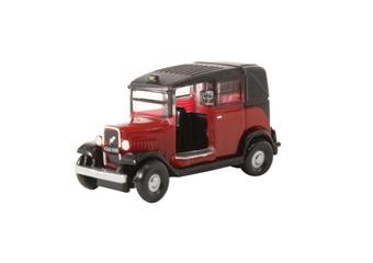 NAT004 Austin Low Loader Taxi Burgundy
