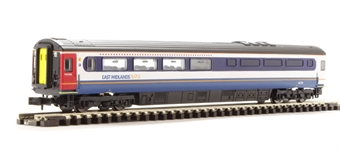 NC216K Mk 3 buffet 40728 in East Midlands Trains livery