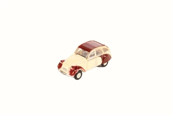 NCT005 Citroen 2CV Plum/Custard