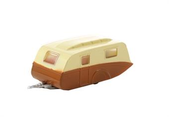 NCV003 Caravan Cream and Brown