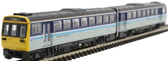 ND116B Class 142 'Pacer' 2 car DMU 142081 in Regional Railways livery