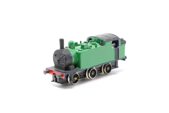 NE3S-PO01 Standard Tank 0-6-0T in Green - Pre-owned - sold as seen - motor turns over, but loco does not run - coupling rods missing- repainted - replacement box