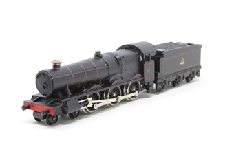 NE4BR-PO Hall Class 4-6-0 7915 'Mere Hall' in BR Black - Pre-owned - noisy runner - name and number removed from one side
