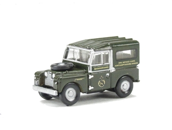 "NLAN188001 Land Rover Series 1 88"" Hard Top Civil Defence Corps"
