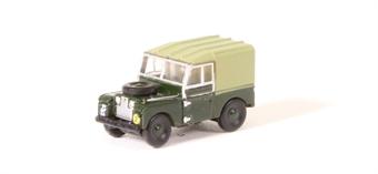 """NLAN188020 Land Rover Series 1 88"""" canvas - """"R.E.M.E"""""""
